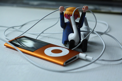 Mats Listening To Music