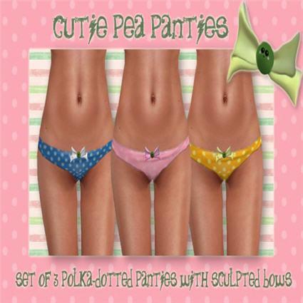 =HooT= - Polka Dotted Cutie Pea Panties