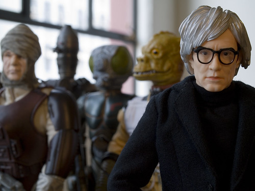 """""""In the future, everyone will be an intergalactic bounty hunter for 15 minutes."""" - Andy Warhol"""
