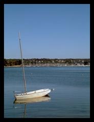 Boat at Cap Coz