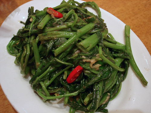 Morning Glory with Fermented Beancurd
