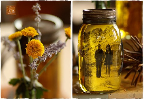 Mason Jars and Oil