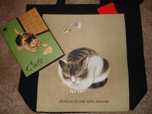bag and cards bought at the MFA