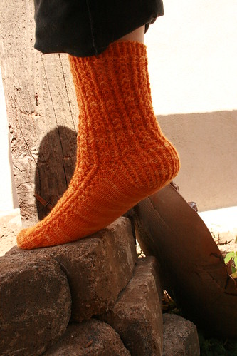 Froot Loop Sock