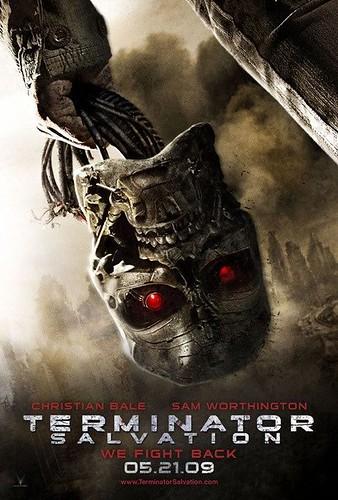 Terminator Salvation (2009) Skull poster