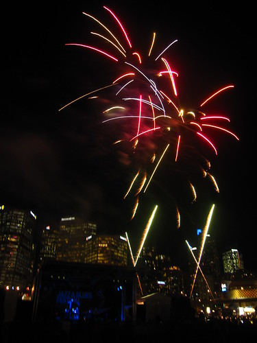 Fireworks at Cockle Bay