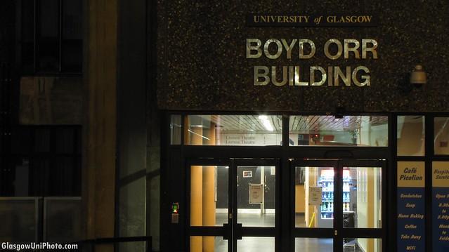 B is for... Boyd Orr [ABC Sundae]