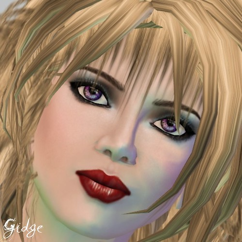 Face by PXL Creations, Grace in Fair Tone - Spring Red Makeup
