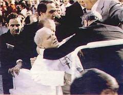 El Papa tras los disparos