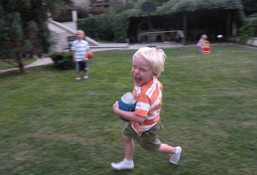 Ollie has an exuberance for life!