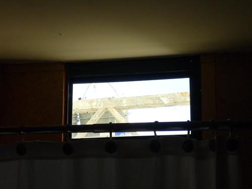 Outside my bathroom window