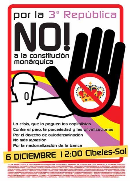 Manifestación 6 de diciembre 2008