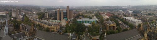 Glasgow University Panorama