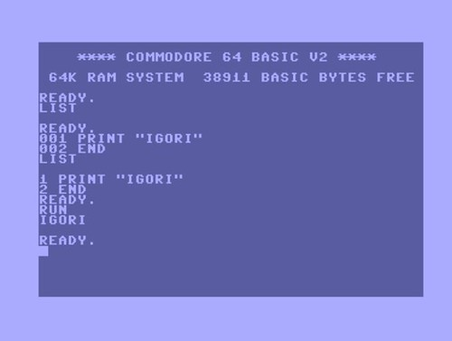 C64-HelloIgori by you.