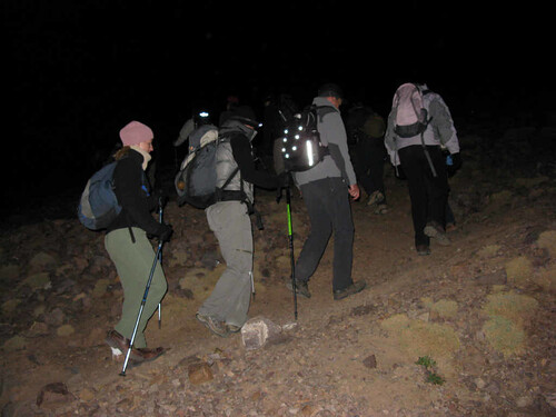 Jebel Toubkal  - 5am start