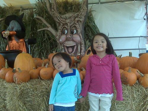 pumpkins w/my lil pumpkins!