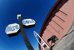 The Rose Bowl on Route 66 in Tulsa, Oklahoma