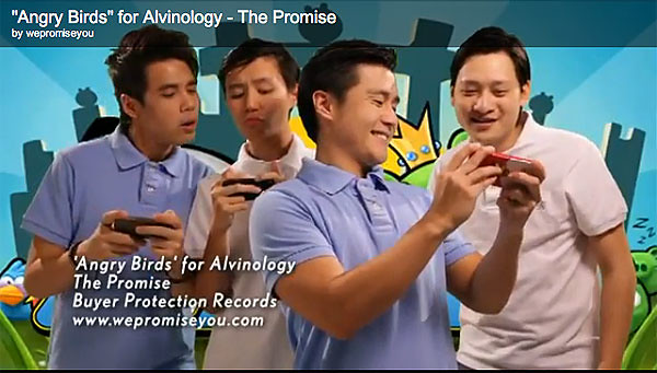 """""""Angry Bird"""" for Alvinology - The Promise"""
