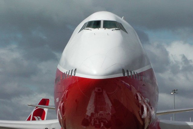Up close with the Boeing 747-8 at the Paris Air Show