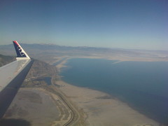 Great Salt Lake From the Air