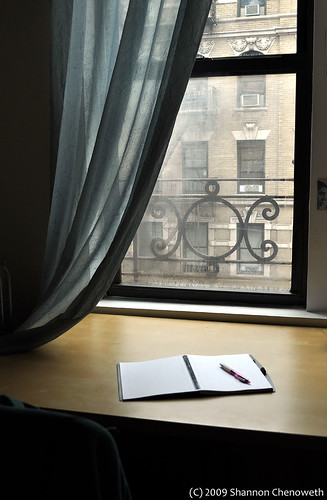 New York writing space