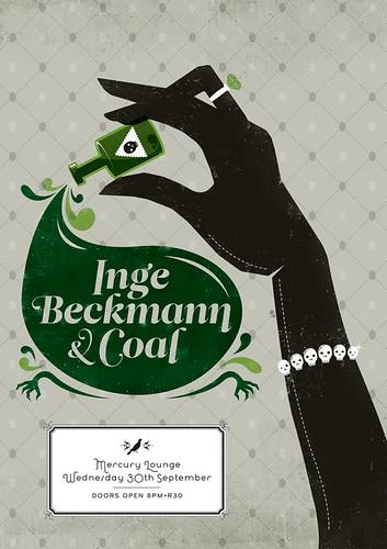 Inge Beckmann & Coal - Femme Fatale by Adam the Velcro Suit.
