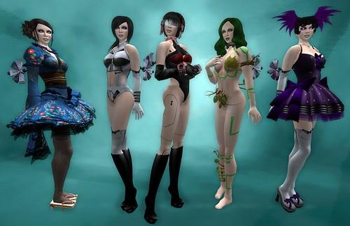 WindMeUp - Cyber Hiketsu Outfit Line-Up