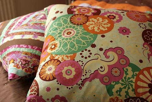 Throw pillows - back