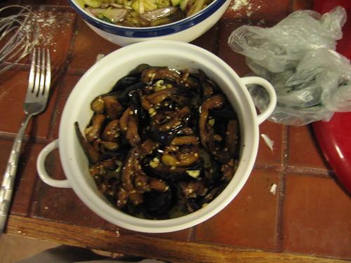 Marinaded Eggplant