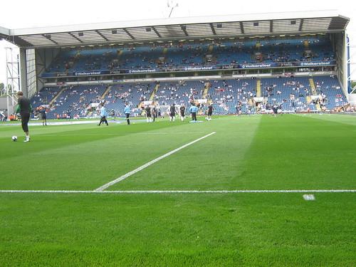 The Walkersteel Stand AKA the Blackburn End