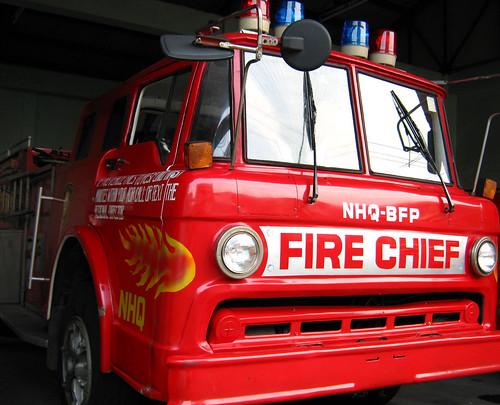 fire chief fire truck
