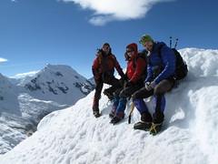 Au sommet de l'Ishinca, 5530m