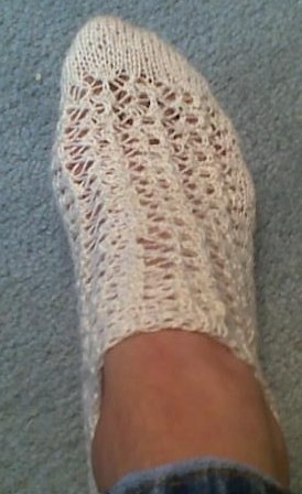 summer lace sock project 004