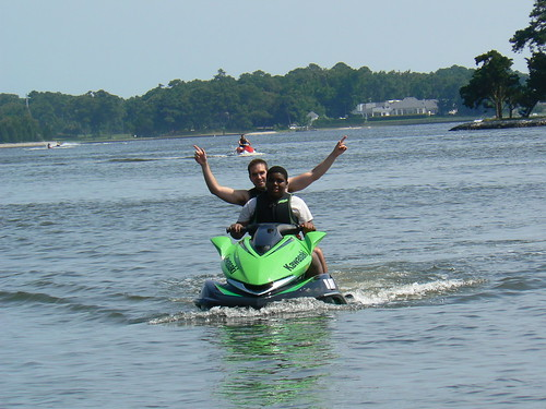 Jet Skiing - Khalif Drives with ZJ