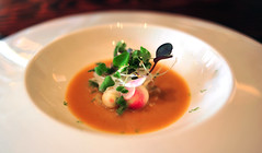 7th Course: 'REDHEAD' RADISH stew, roasted & raw