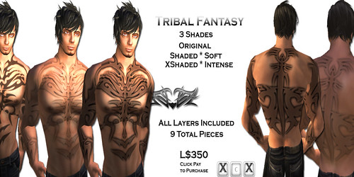 [HUZ]-Tribal Fantasy-Advert