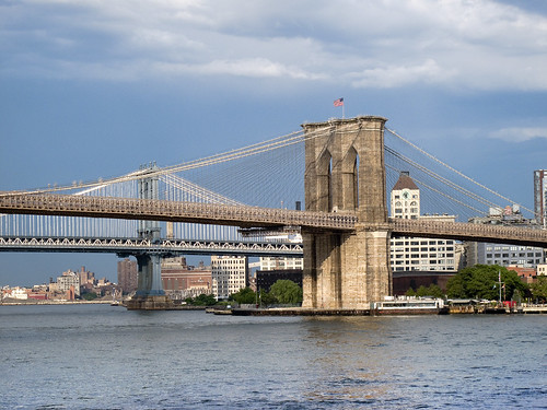 Brooklyn and Manhattan Bridges by you.
