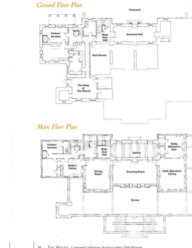 Floor plans for The Mount
