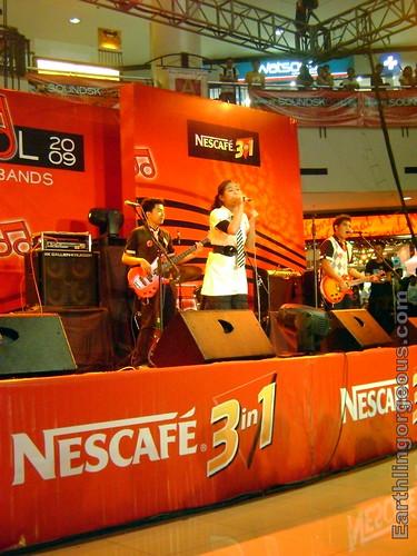 Play performina at Market! Market! for NESCAFE Sounskool