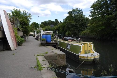 Grand Union Canal, near Brentford Dock