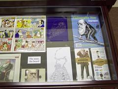 Darwin memorabilia, Whipple Museum, University of Cambridge