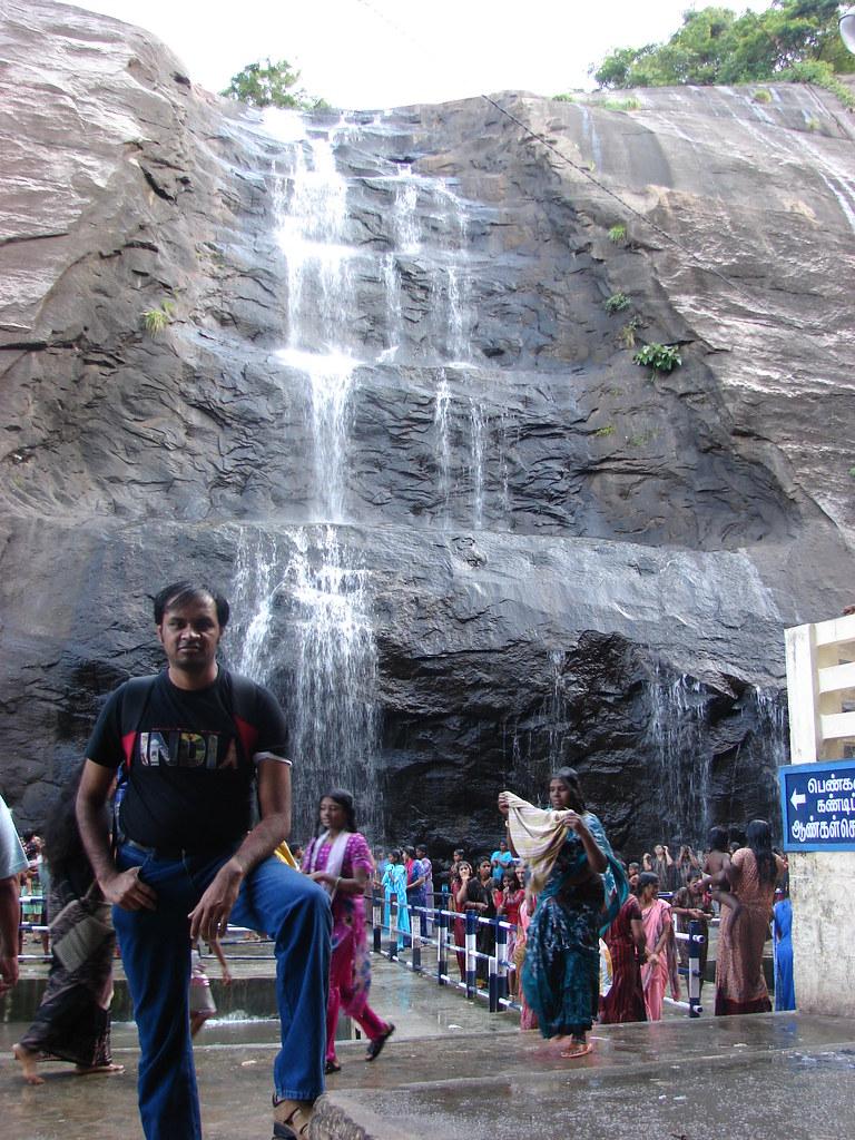 Me @ Old Kutralam falls