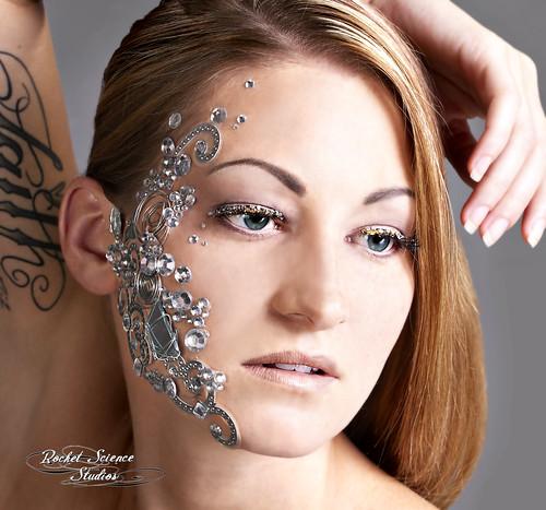 European School of Makeup Beauty shoot