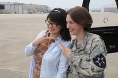 USFK Good Neighbor English Camp students visit...