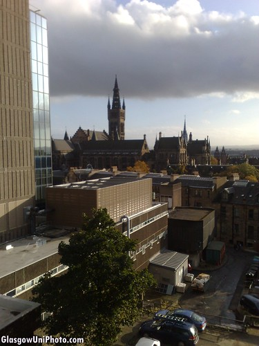 View From The Adam Smith Building