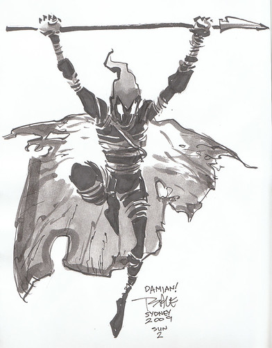Tim Sale Grendel Sketch
