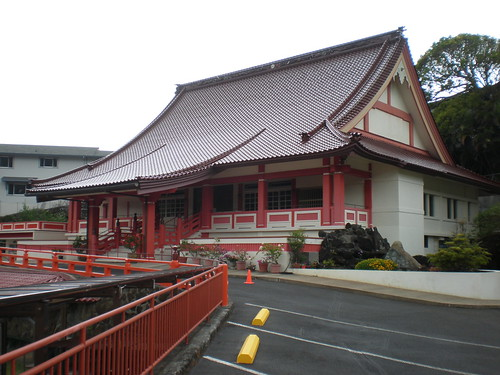 Corner view, Koganji Tendai Buddhist Temple, Honolulu