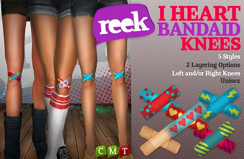 Reek - I Heart Bandaid Knees