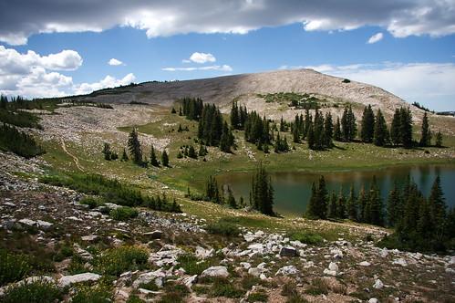 Scout Peak and Lofty Lake
