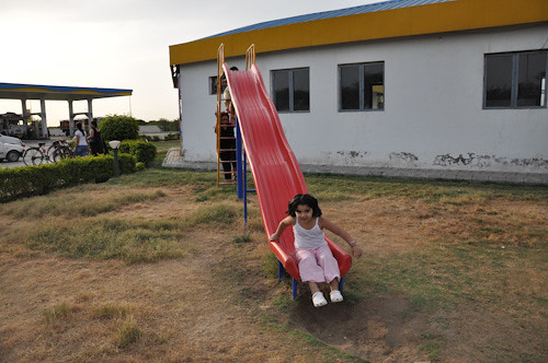 Pari in the slide